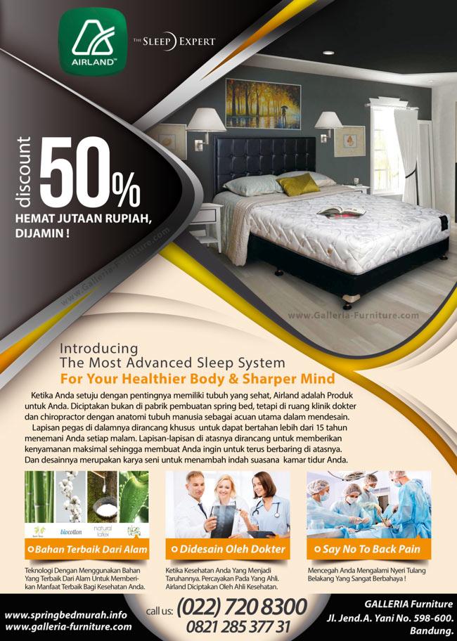 Toko Spring Bed Murah Bandung - Jual Airland 505