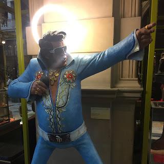 Kelvingrove Elvis Statue