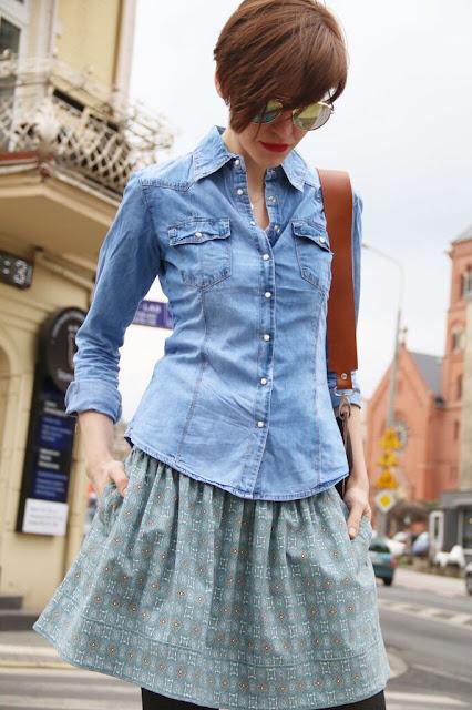 jeans, koszula, casual style, blog po 30-tce, stylistka poznan, osobista stylistka, Novamoda streetstyle, novamoda stylizacje, street style, street style poznań
