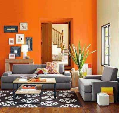 Tambahkan Aksen Garis Untuk Mempercantik Ruangan Pemilihan Cat Warna Dinding Juga Harus Disesuaikan Dengan Furniture Yang Ada Di Dalam Ruang Tamu