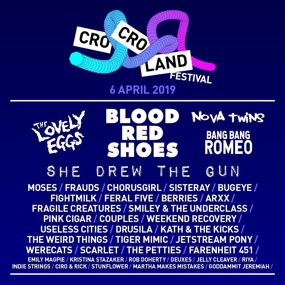 CroCroLand Music Festival - The Game Changer (with set times