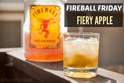 firey apple cocktail, fireball whisky, cinnamon whisky, appler cider