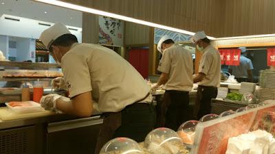 タイの回転寿司