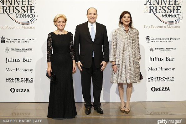 Princess Caroline of Hanover and Prince Albert II of Monaco