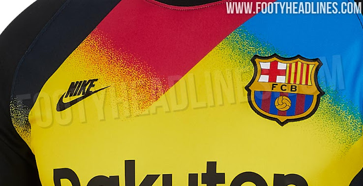Crazy Nike FC Barcelona 19-20 Champions League Goalkeeper