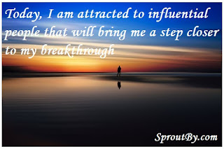 Affirmations for breakthrough