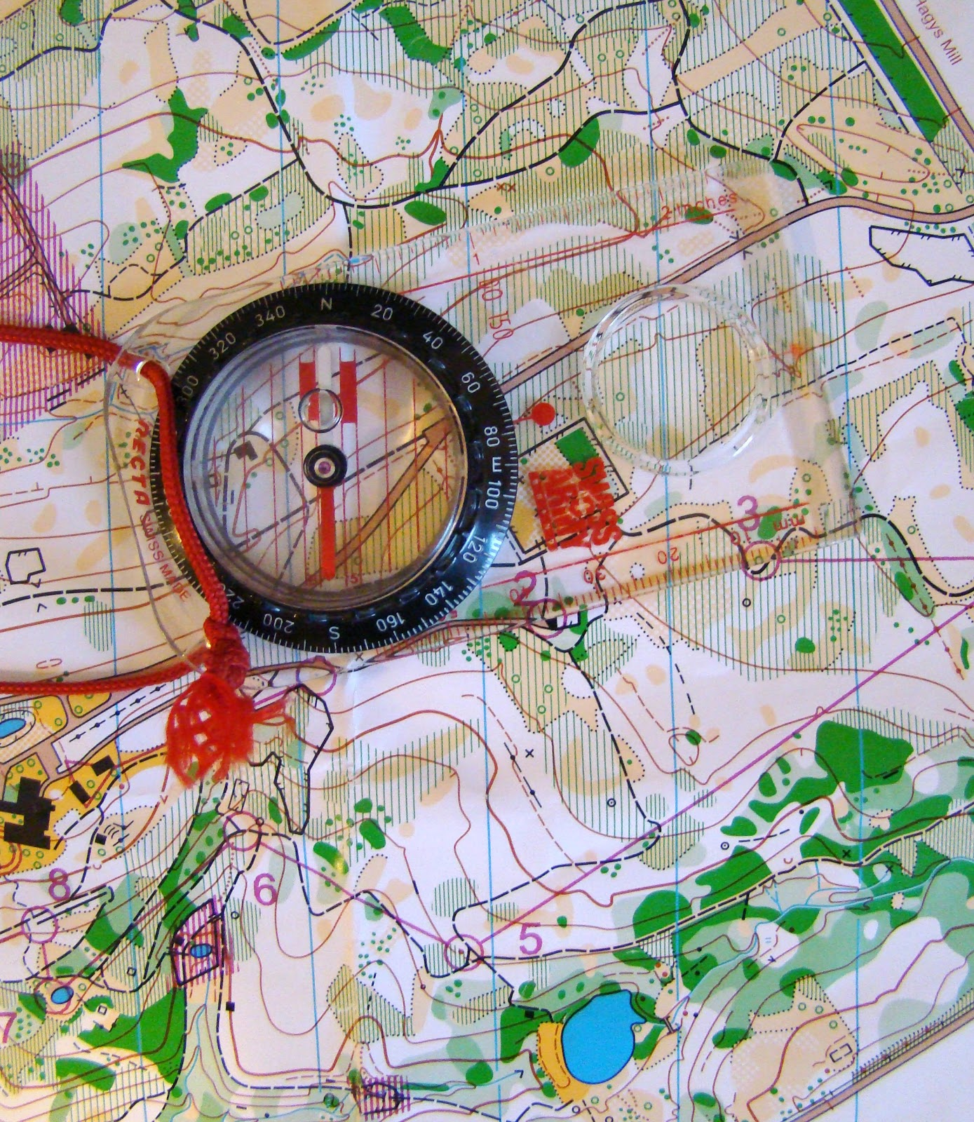 Orienteering In Greece Using The Compass In Interaction
