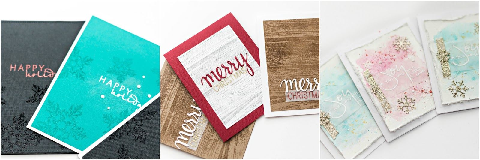 Tiffanys Paper Designs: Christmas In July   DIY Christmas Cards