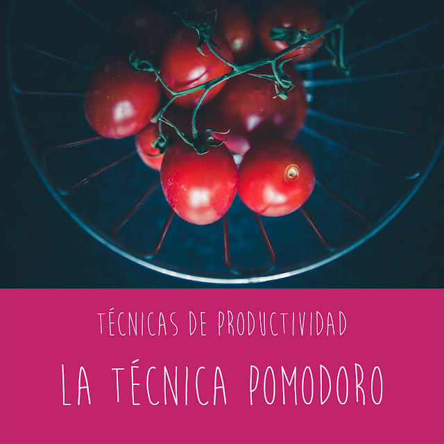Técnicas de productividad: la técnica pomodoro