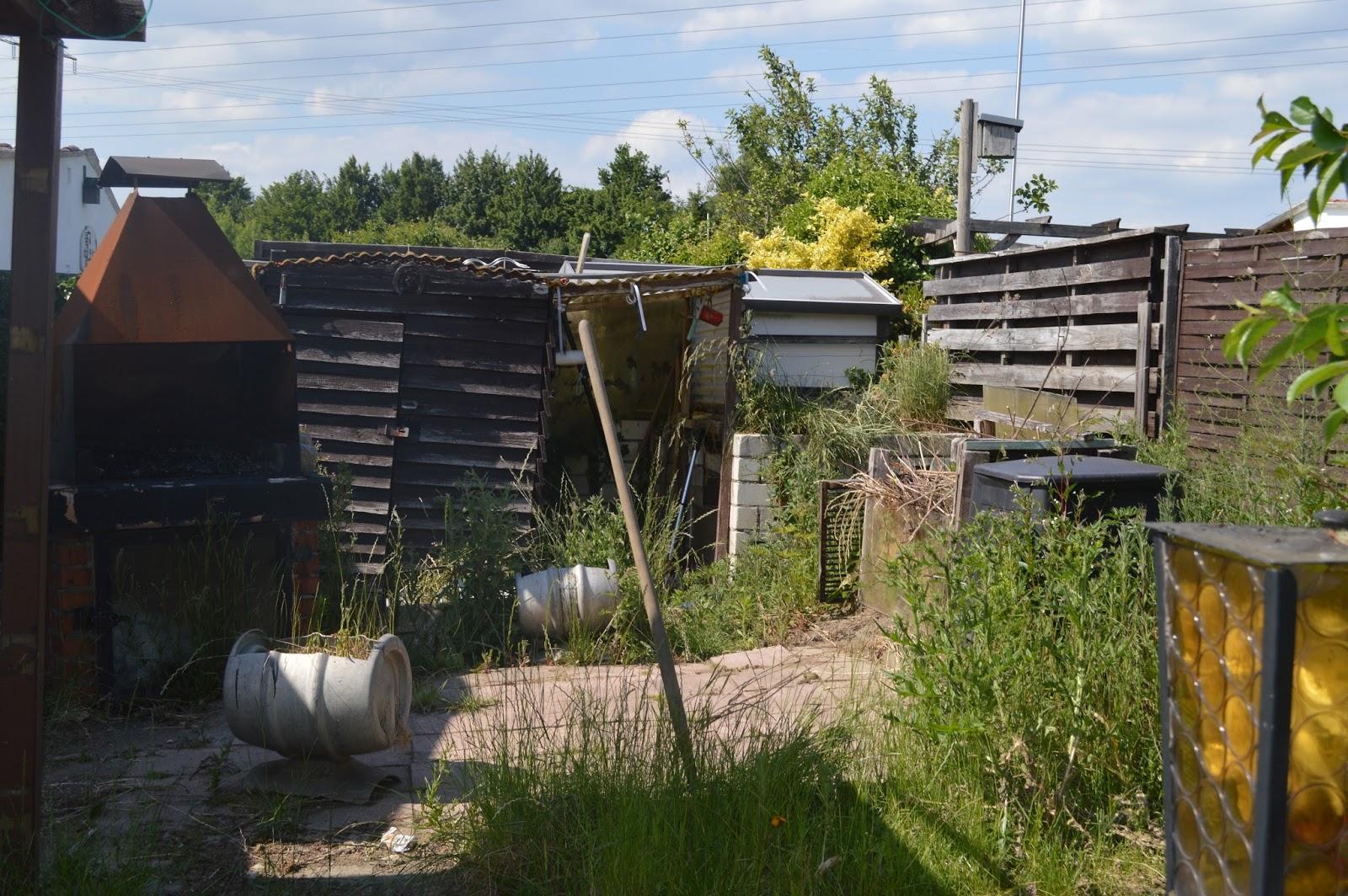 Prüsseliese Unser Garten oder eine Baustelle