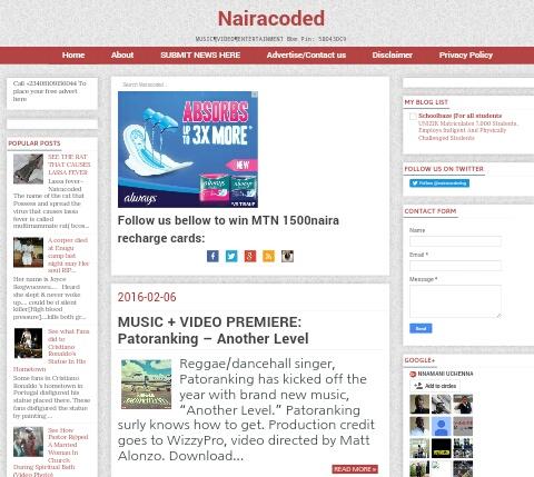 Blog Of The Week: Nairacoded Blog
