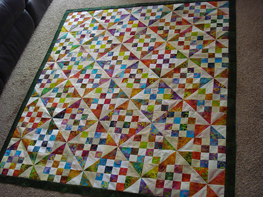 Patches and Pinwheels Quilt Free Pattern