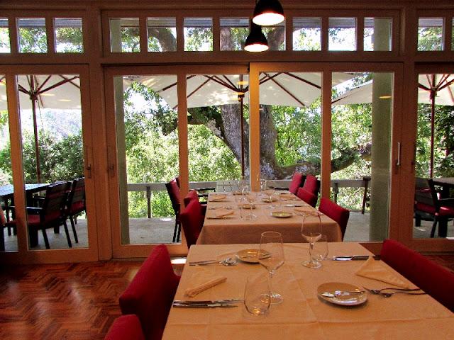 Sala de jantar do Hotel Misarela