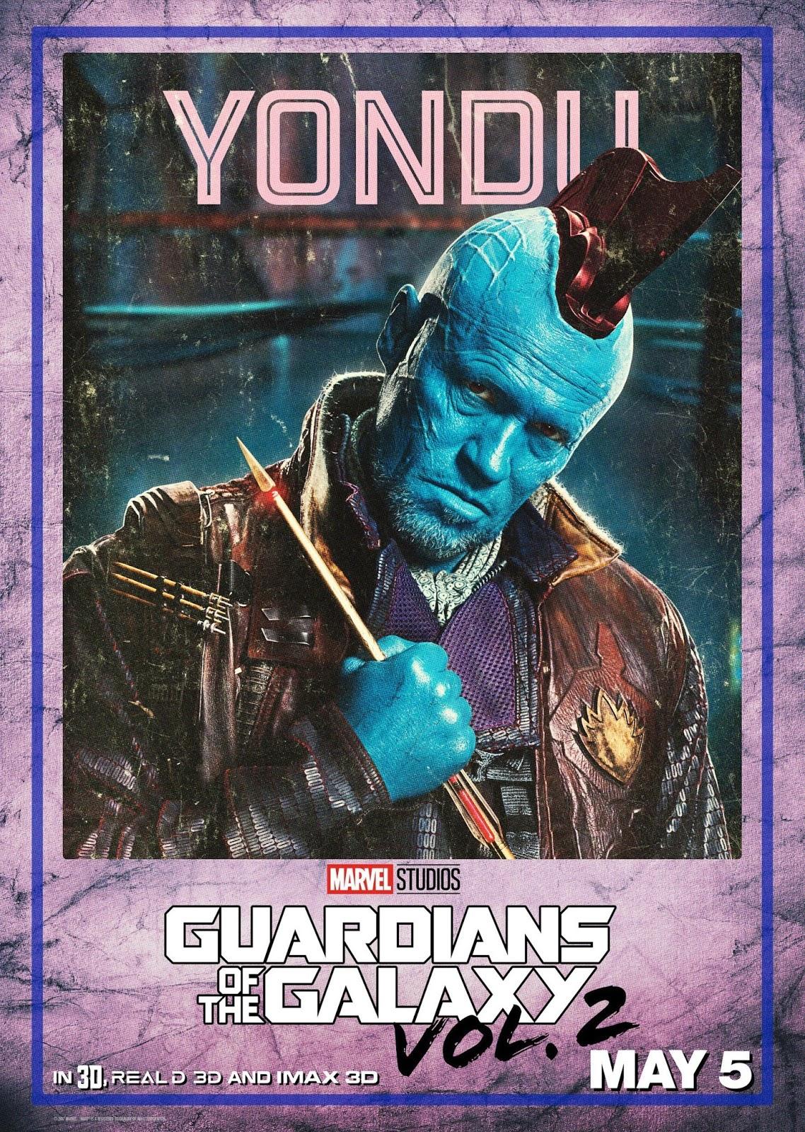 Стражи Галактики Часть 2, Guardians of the Galaxy Vol 2, Йонду, Yondu