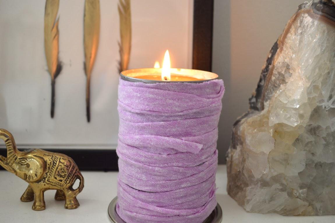 DIY Faux Spool Candle  Wild Amor