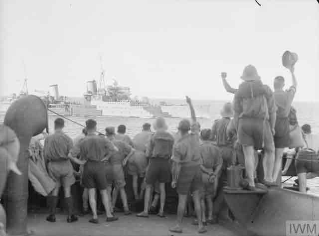 HMS Glasgow at Singapore, 3 December 1941 worldwartwo.filminspector.com
