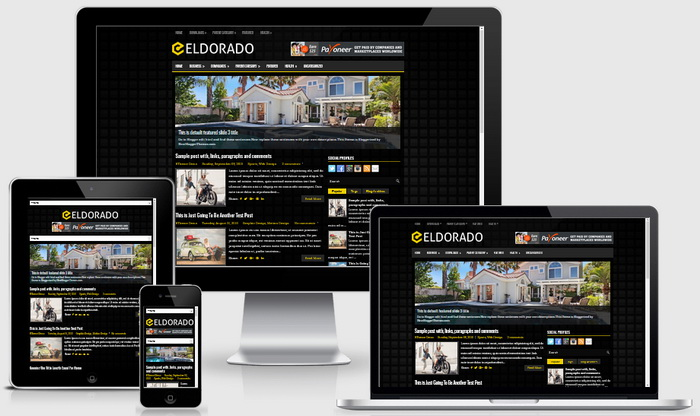 Eldorado blogger template btemplates for Free blogger templates with slider