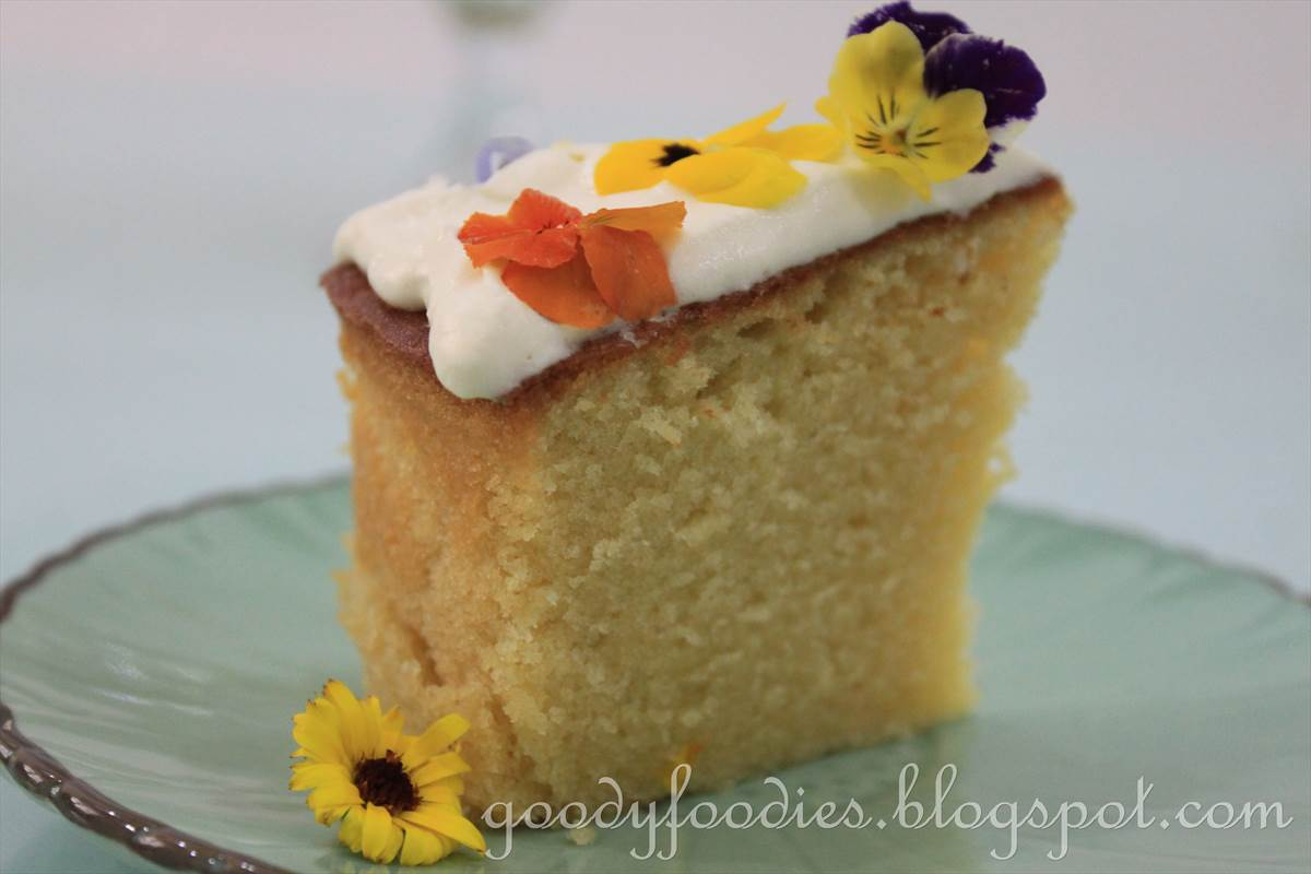 Amy Beh Butter Cake Recipe