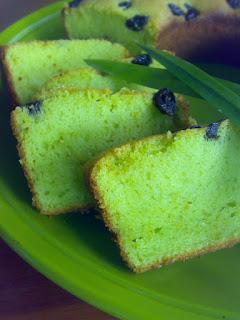 Resep Cake Tape Pandan