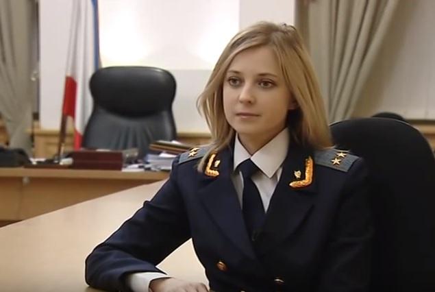 Natalija Poklonskaja in the black list of US and EU, but the Russian MP visits Serbia