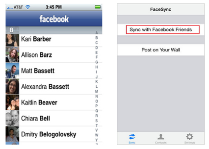 Sync Facebook Contacts With Android