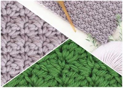 Como hacer el punto Sedge o Juncia a crochet