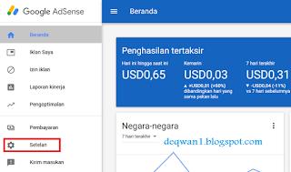 cancel akun google adsense