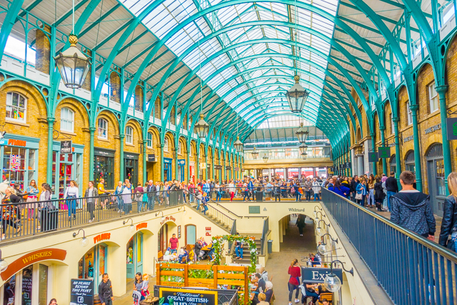 Covent Garden Market - London, England