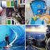 Wisata Foto Terbalik dan Latar Lukisan 3D di Bandung