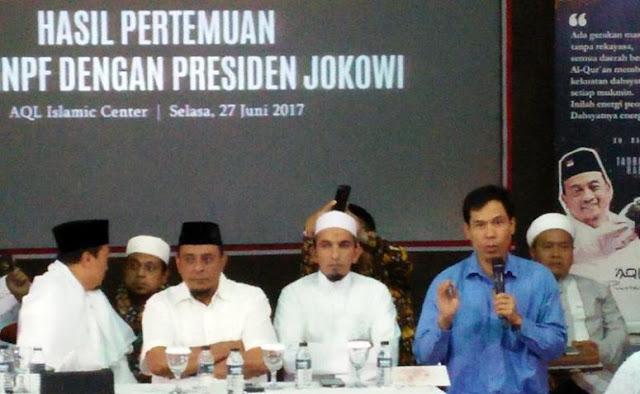 Ini Tanggapan Habib Rizieq Sesudah Pertemuan GNPF MUI Dengan Presiden