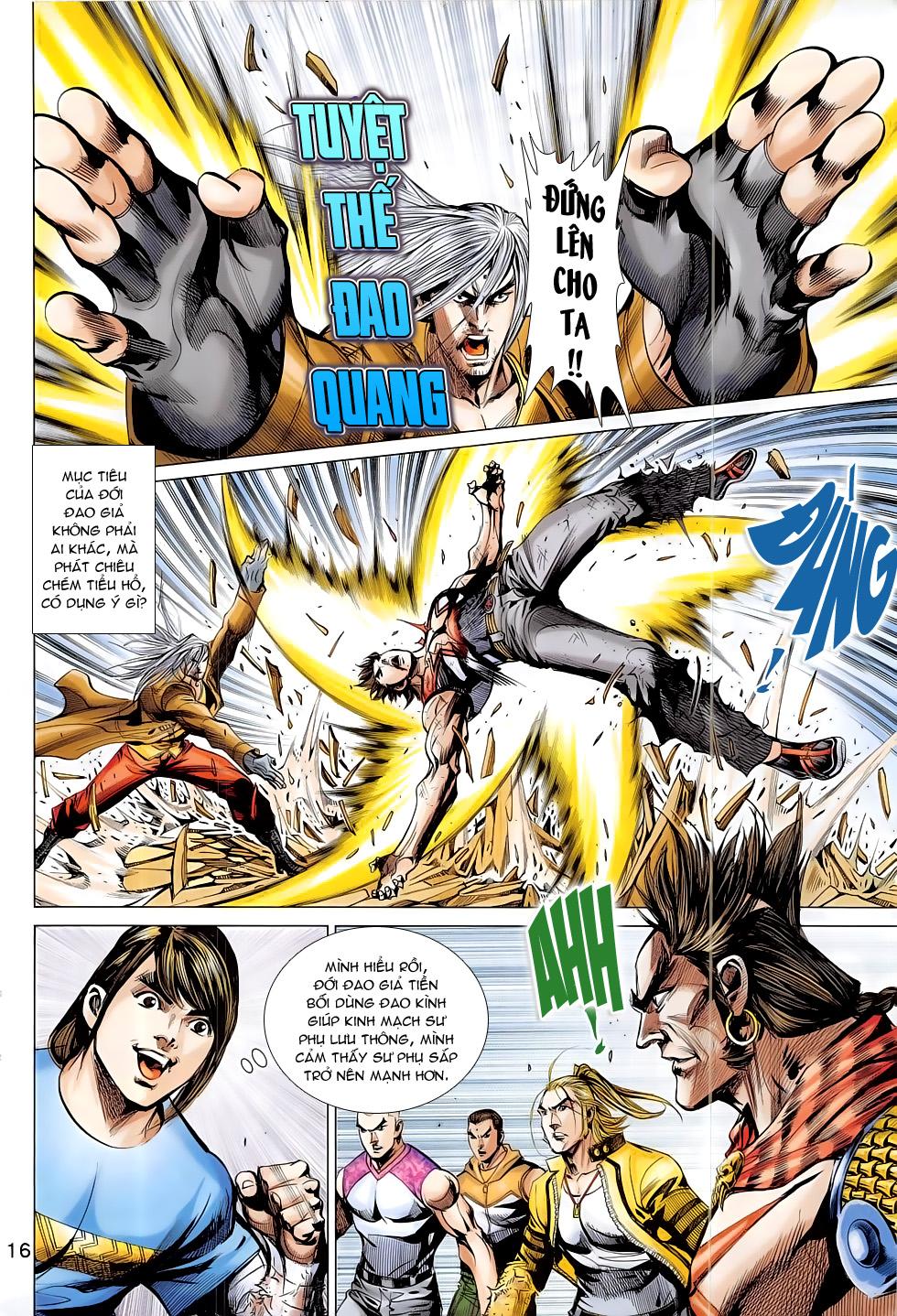 Đông Phương Chân Long chap 65 - Trang 16