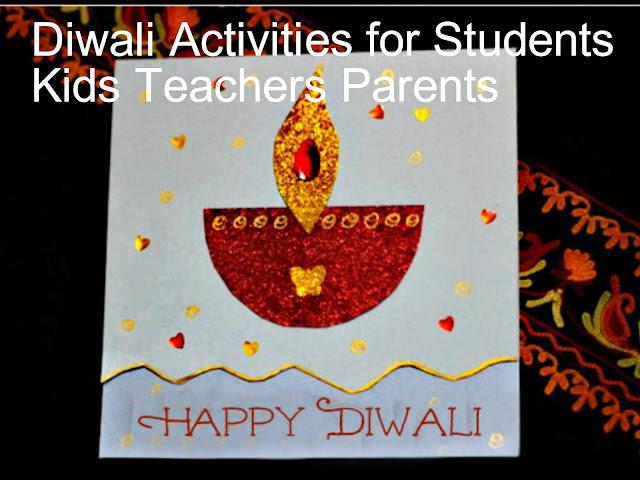 Diwali Activities for Students Kids Teachers Parents