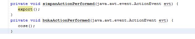 3 - Tutorial Java - Membuat Fitur Open/Save Menggunakan BufferedWriter dan BufferedReader