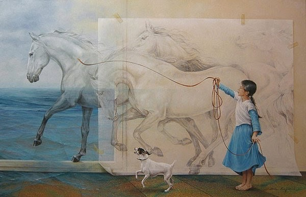 03-Chelin-Sanjuan Piquero-Oil-Paintings-in-Magical-Realism-www-designstack-co