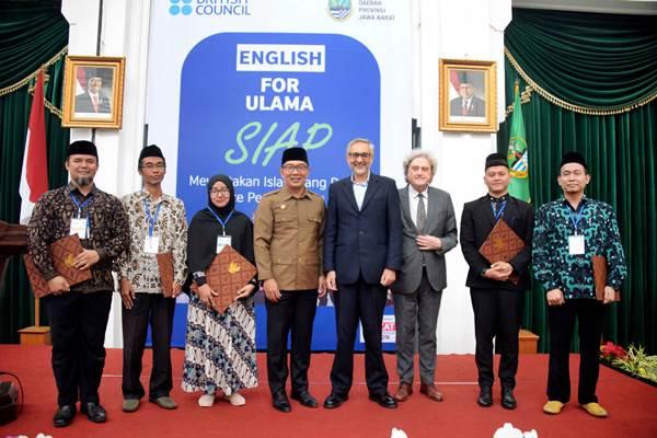English for Ulama: Kenalkan Islam Toleran dan Tekan Islamofobia di Eropa