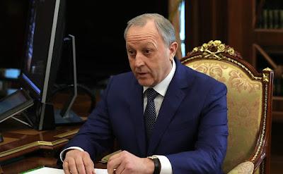 Governor of the Saratov Region Valery Radayev.