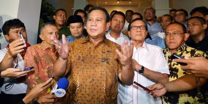 Prabowo banggan Kemenangan Pilkada Tak langsung