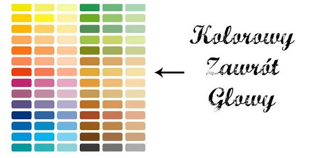 kolory w palecie
