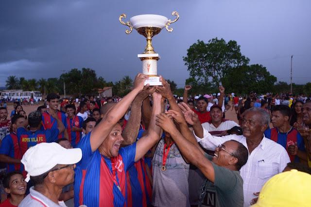 Nova Vila é campeão da 12ª edição do Campeonato Rural de Barreiras