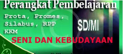 Prota, Promes dan KKM SD/MI Kelas 5 Mata Pelajaran SBK Semester 1 dan 2 Lengkap