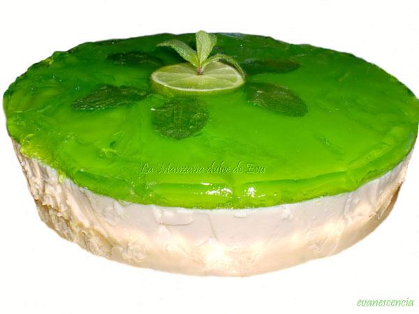 receta de tarta de mojito sin alcohol