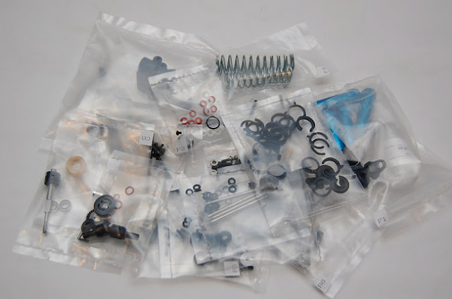 Team Associated SC10 kit parts bags