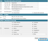 Cara Mudah Membuat Disclaimer Pada Blog