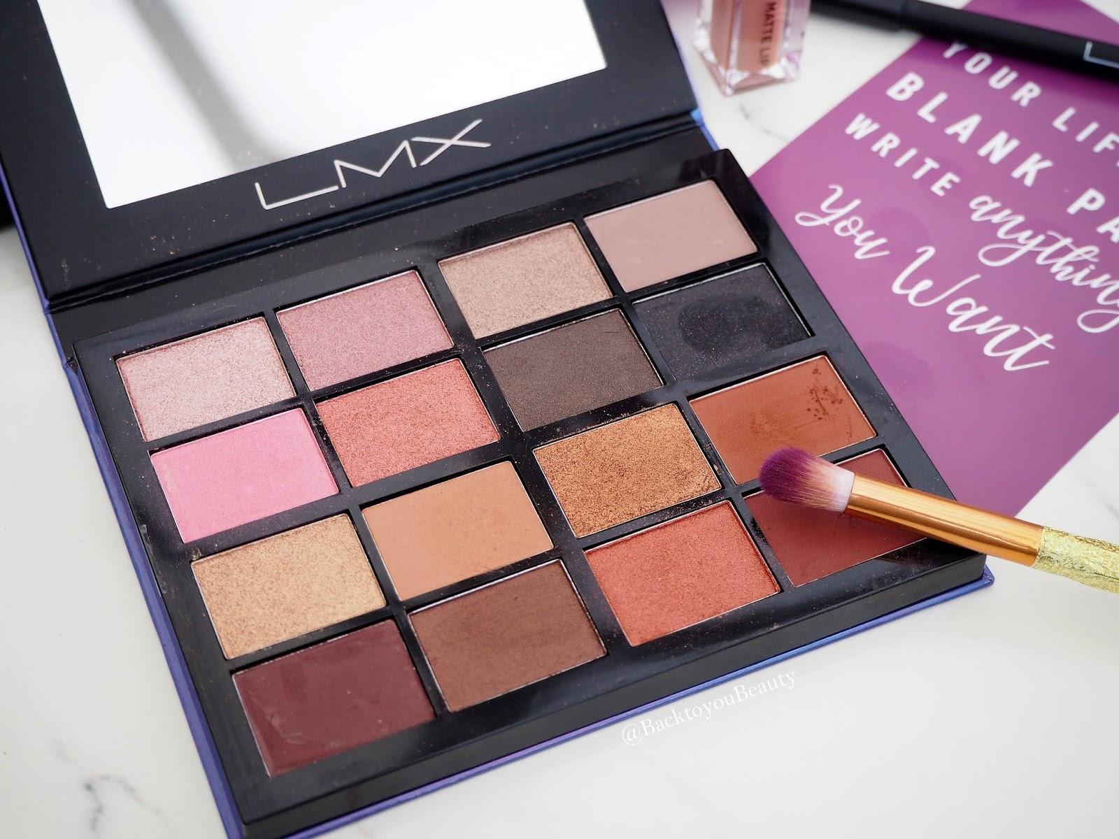 LMX Beauty Eye palette 2