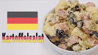Kartoffelsalat, ensalada de patata alemana