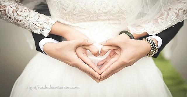 Significado de soñar con matrimonios