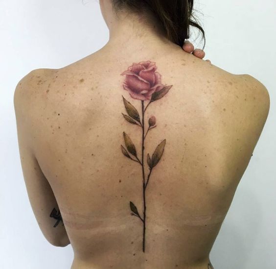 Mytattooland Com Back Flower Tattoo Ideas