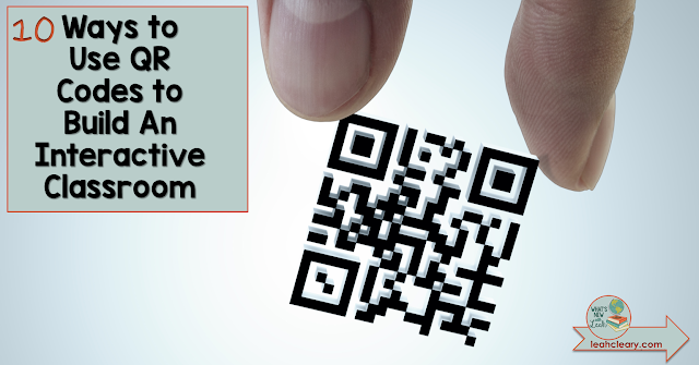 QR Codes may seem like old news to many teachers. But there are so many more ways to use them than just linking to websites. Teachers can embed text and images within QR Codes to create a more interactive classroom. Click through to discover 10 creative ideas for using QR Codes in the classroom. Don't forget to download the Cheat Sheet and the editable templates!