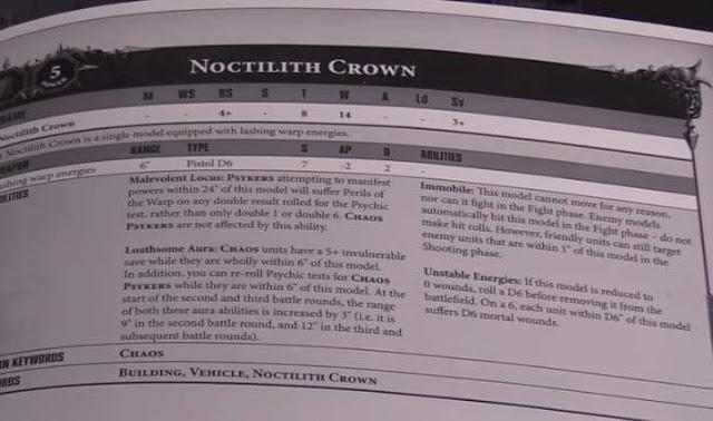 hoja datos Corona de Noctilith