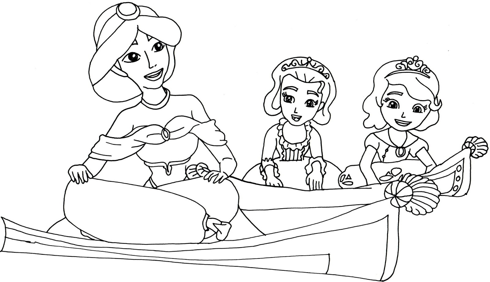 Sofia The First Coloring Pages Two To Tangu Sofia the First
